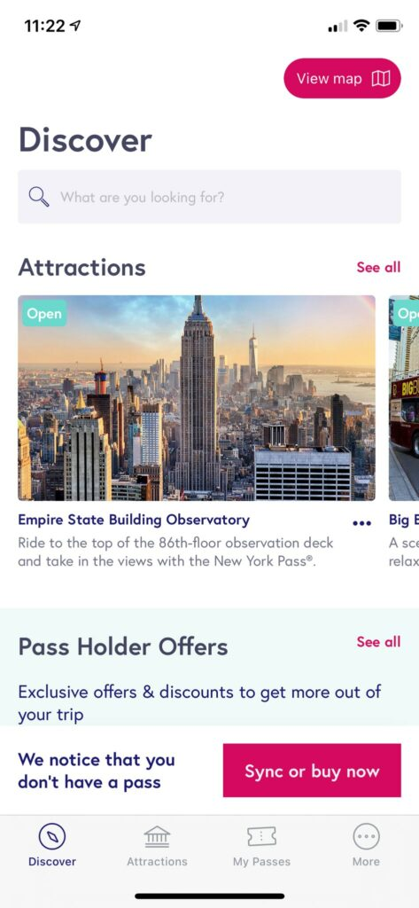 New York Pass Step by Step App