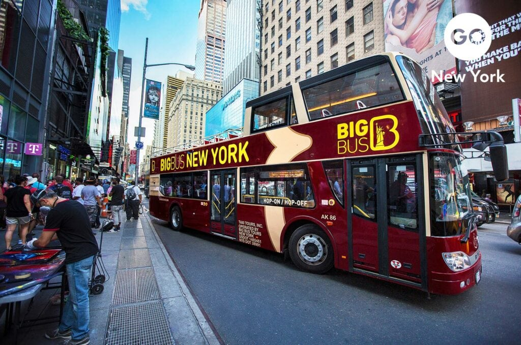 Go City Go New York Branding   Big Bus