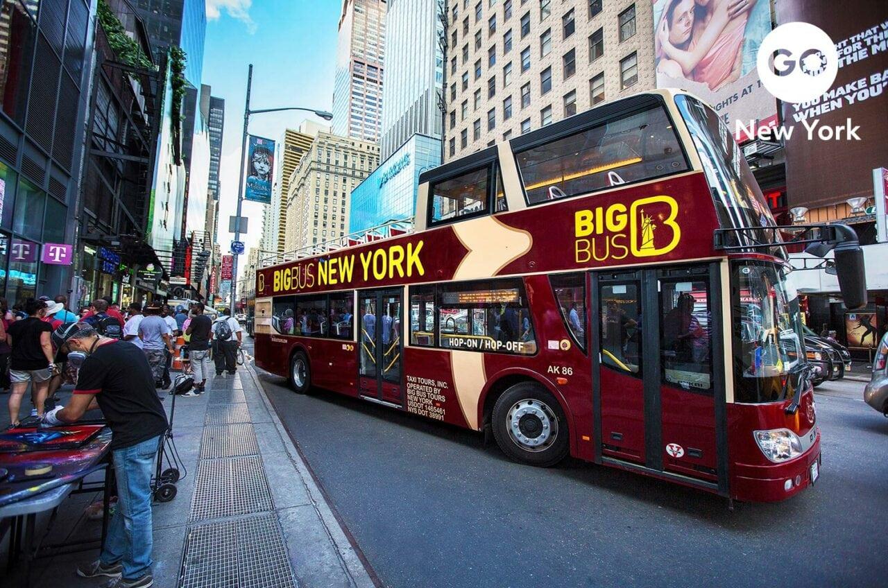 Go City Go New York Branding – Big Bus
