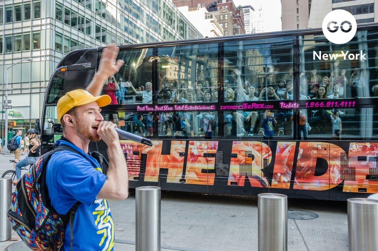 Go City Go New York Branding – The Ride