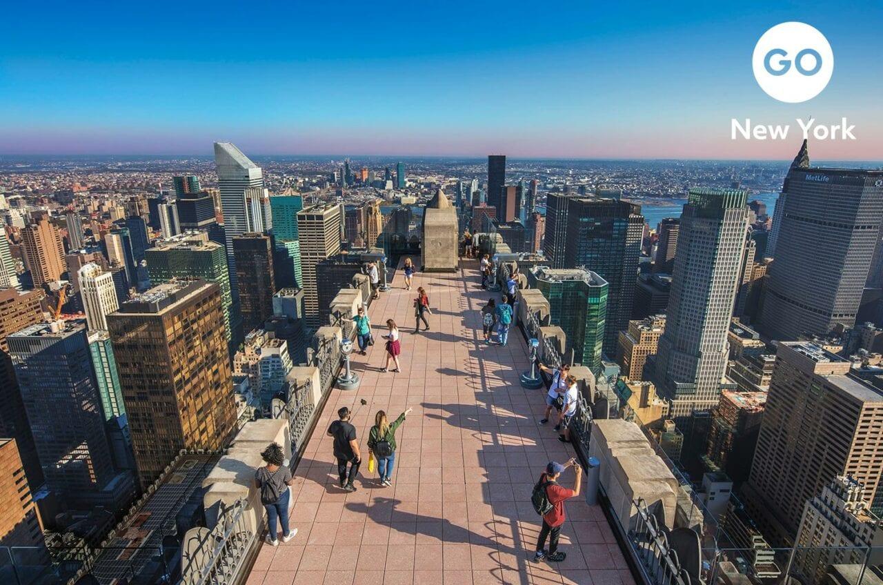 Go City Go New York Branding – Tof of the Rock daytime