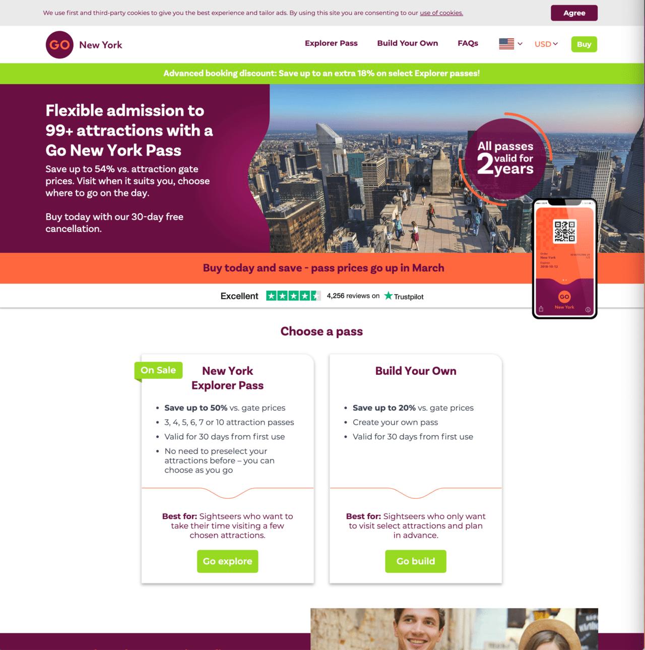 Go New York Explorer Pass – Homepage Full