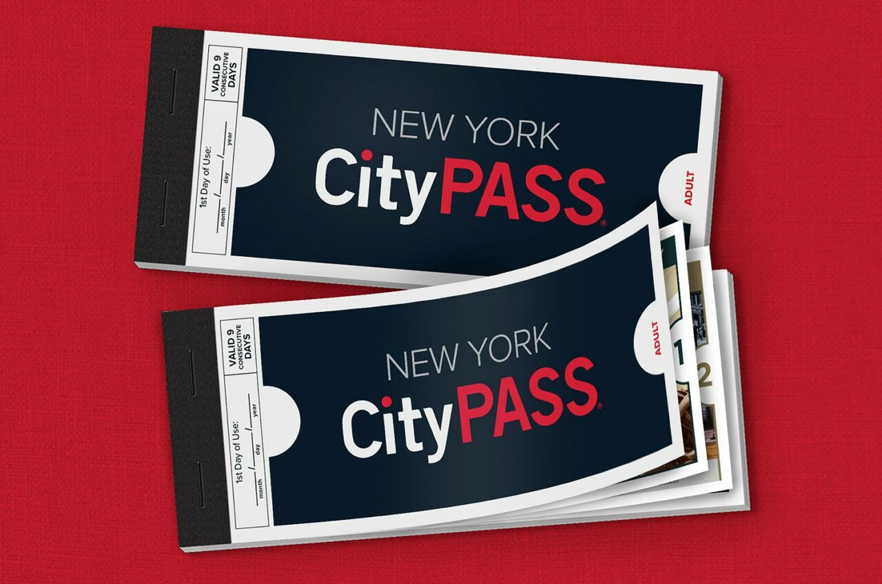 New York CityPASS Brand Image – Booklets Open