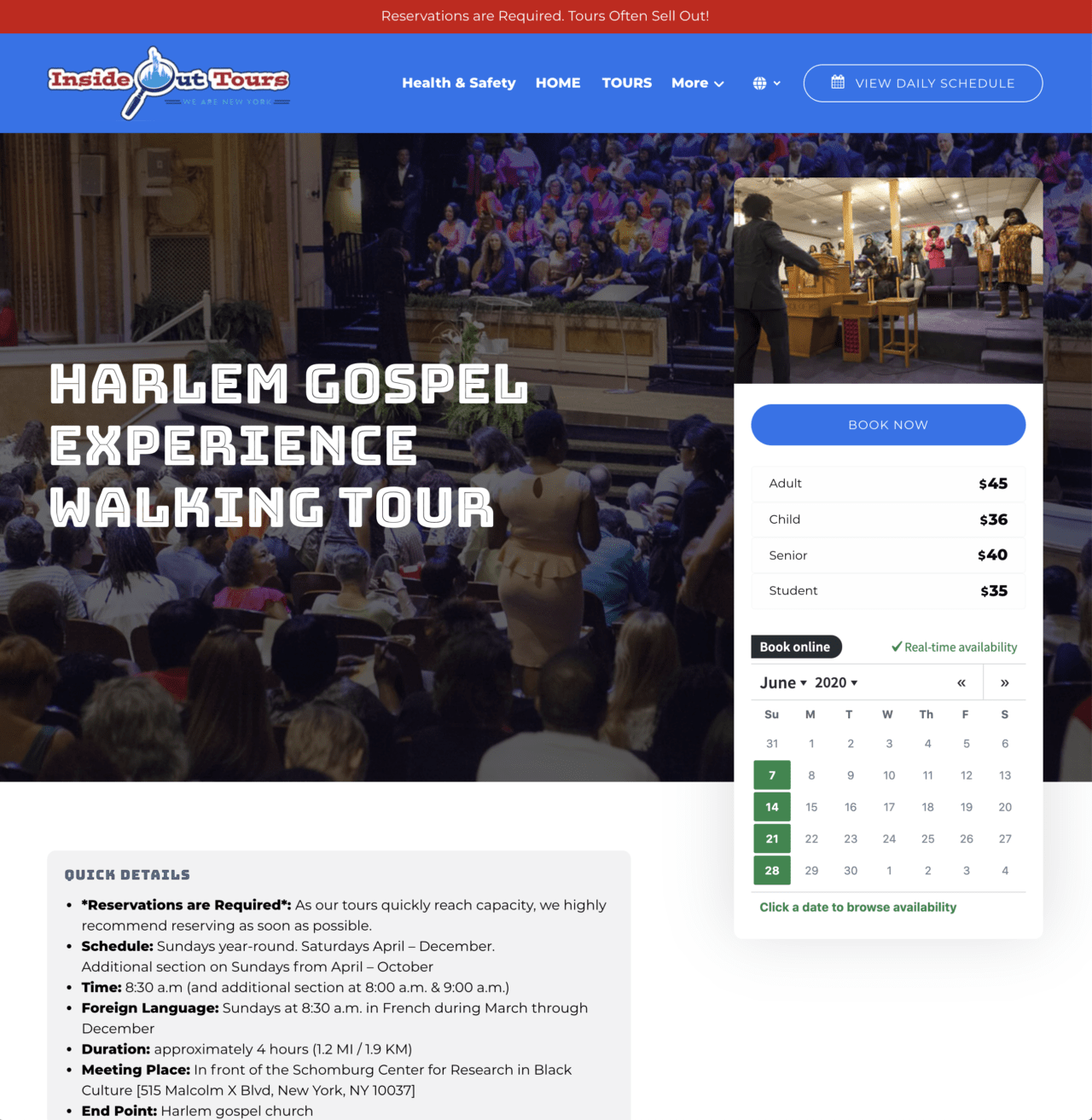 New York Pass Guide – Booking Harlem Gospel Tour 1