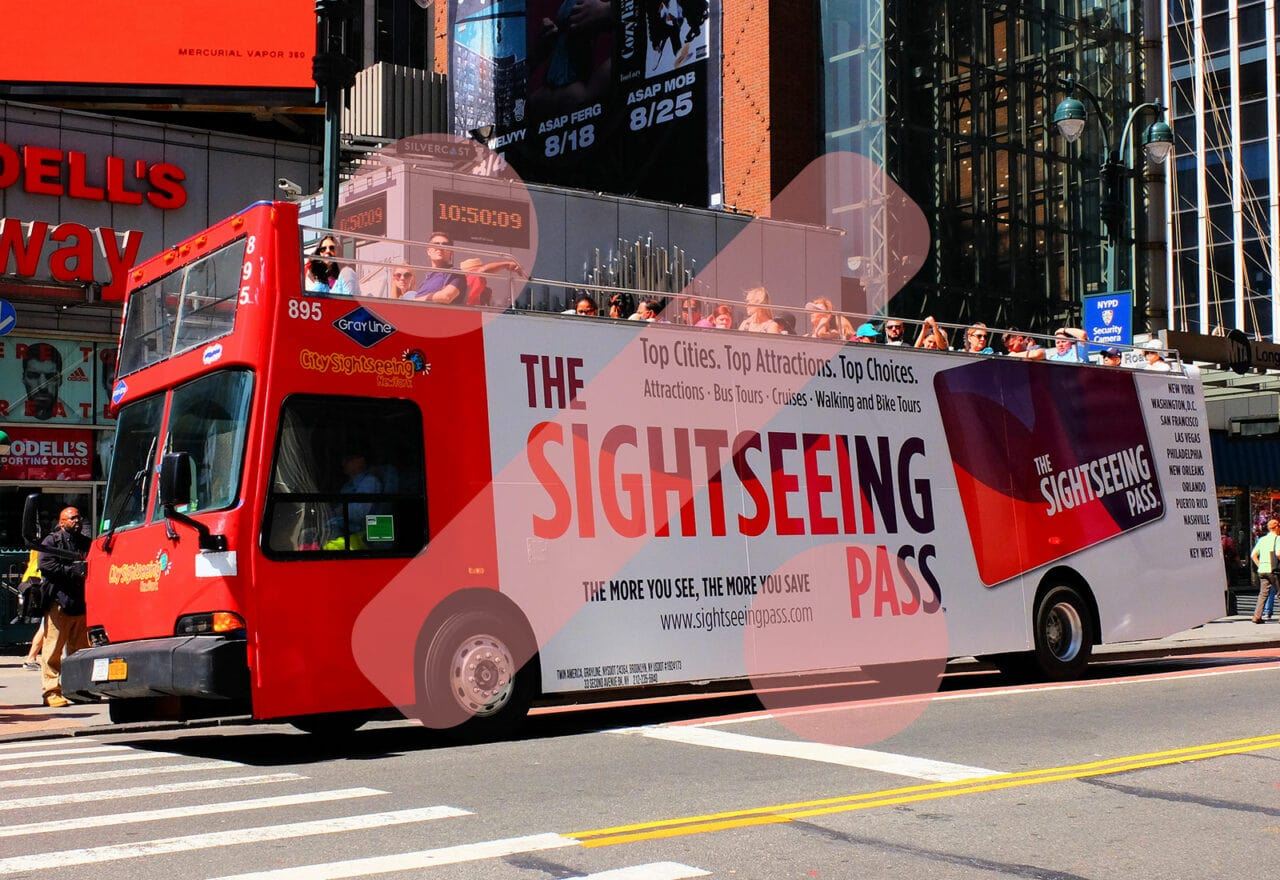 New York Sightseeing Pass – Hop on Hop off Bus